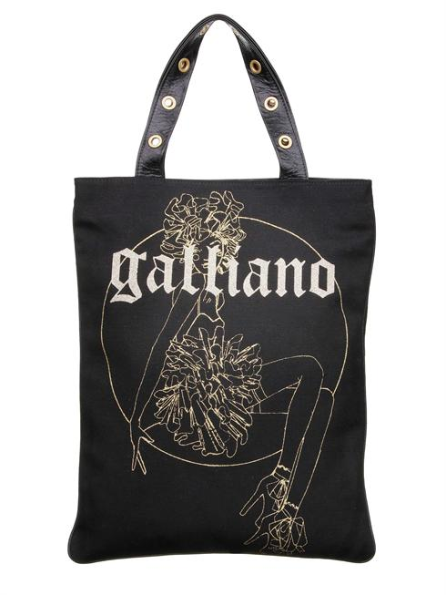 Galliano black Bag