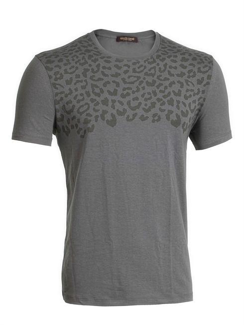 Roberto Cavalli military look T-Shirt