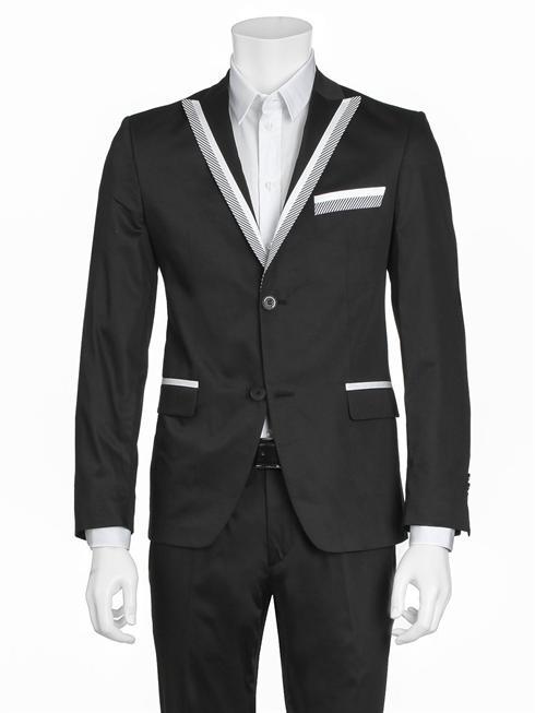 Cavalli Class black Suit
