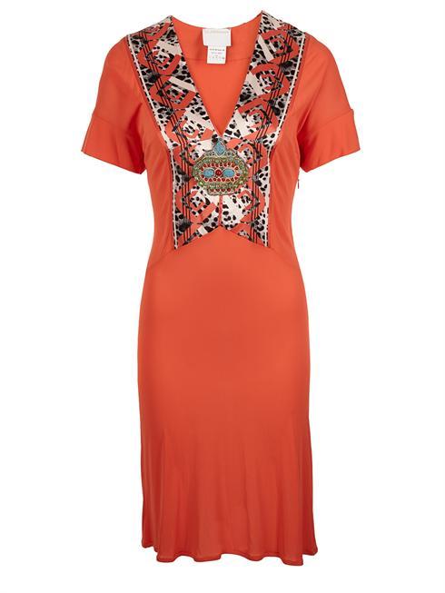 Cavalli Class orange Dress