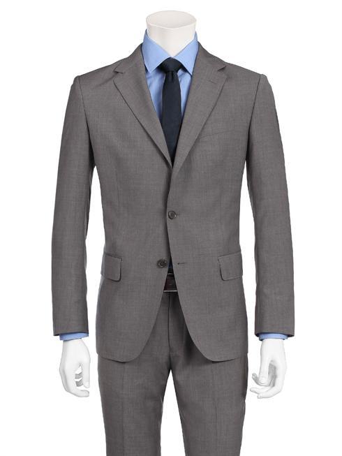 Vitale Barberis grey/brown Suit