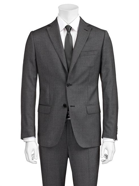 Valentino pinstriped grey Suit