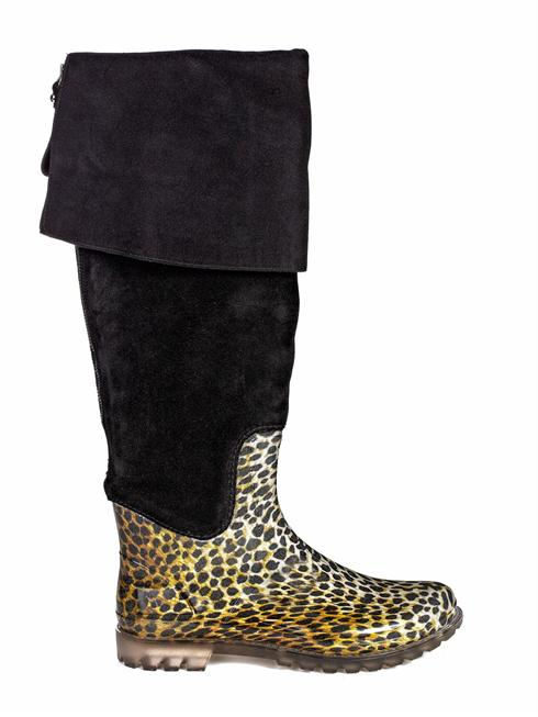 D&G leopard print Boots