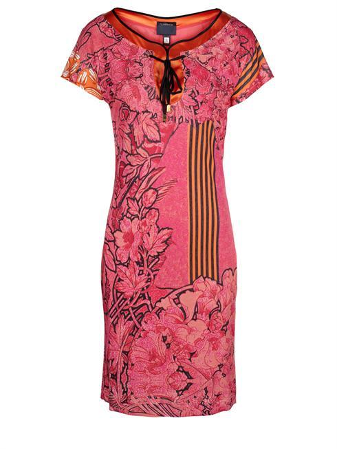 Cavalli Class pink flower print Dress