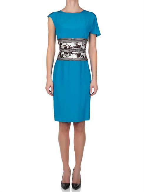 Cavalli Class turquoise Dress
