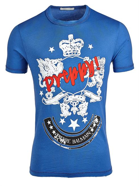 Balmain blue T-Shirt