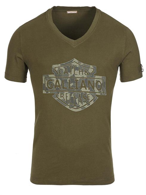 Galliano olive T-Shirt