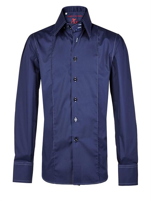 Angelo Galasso dark blue Shirt