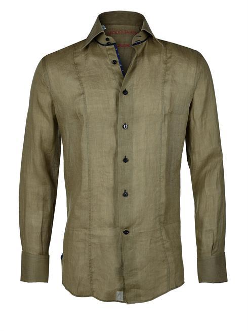 Angelo Galasso olive Shirt