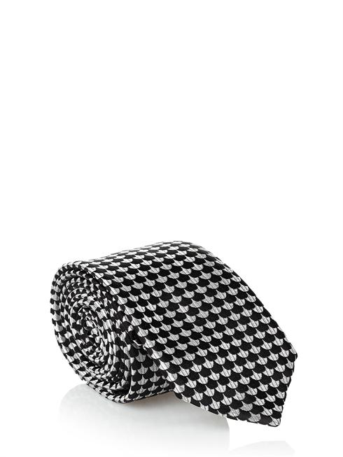 Dolce & Gabbana black/white Tie