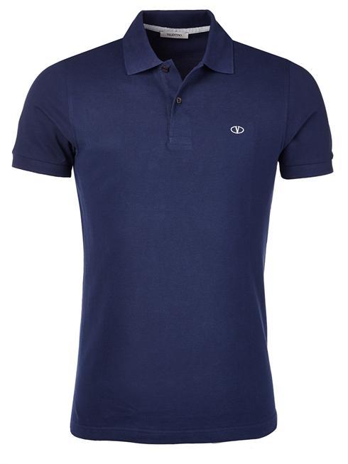 Valentino dark blue Polo T-Shirt