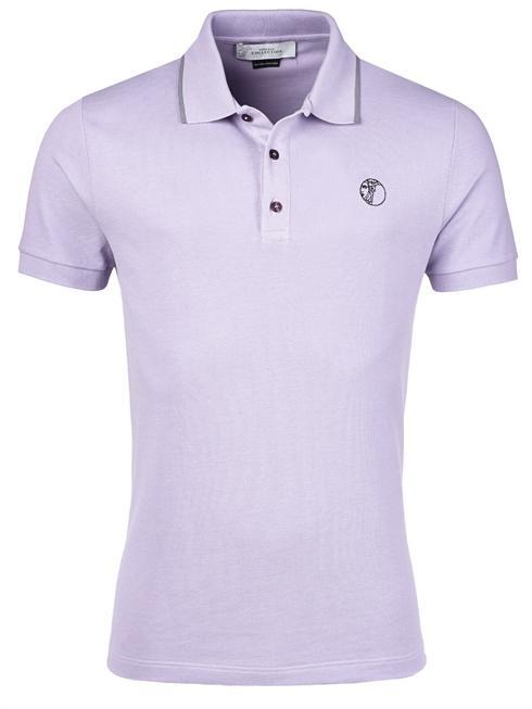 Versace purple Polo T-Shirt