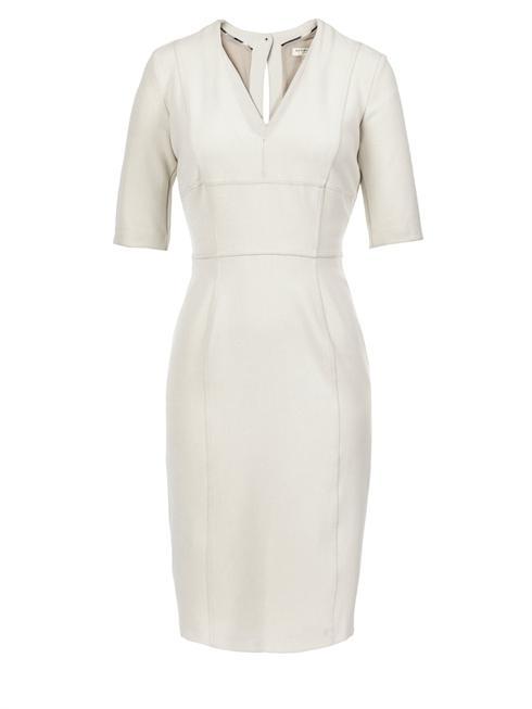 Burberry cream shift Dress