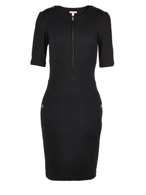 Burberry black zip front Dress