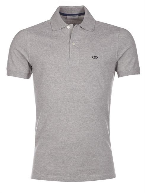 Valentino gray Polo T-Shirt