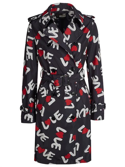 love moschino love moschino coat