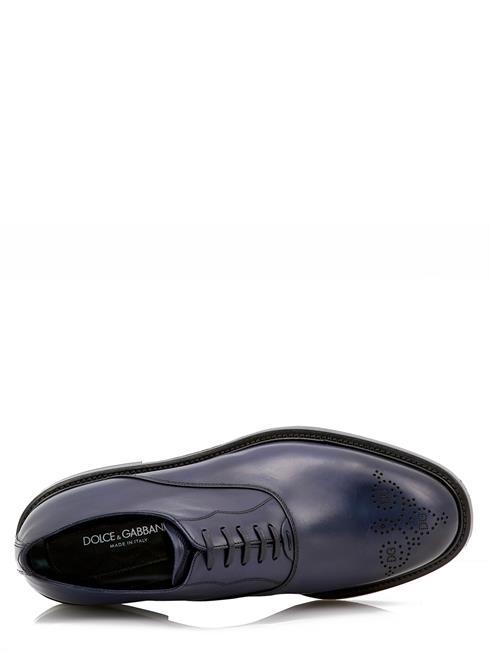 A20085 Schuhe Ac329 Leather Gabbana Leder Dunkelblau Shoe amp; Dolce 100 TxRwII