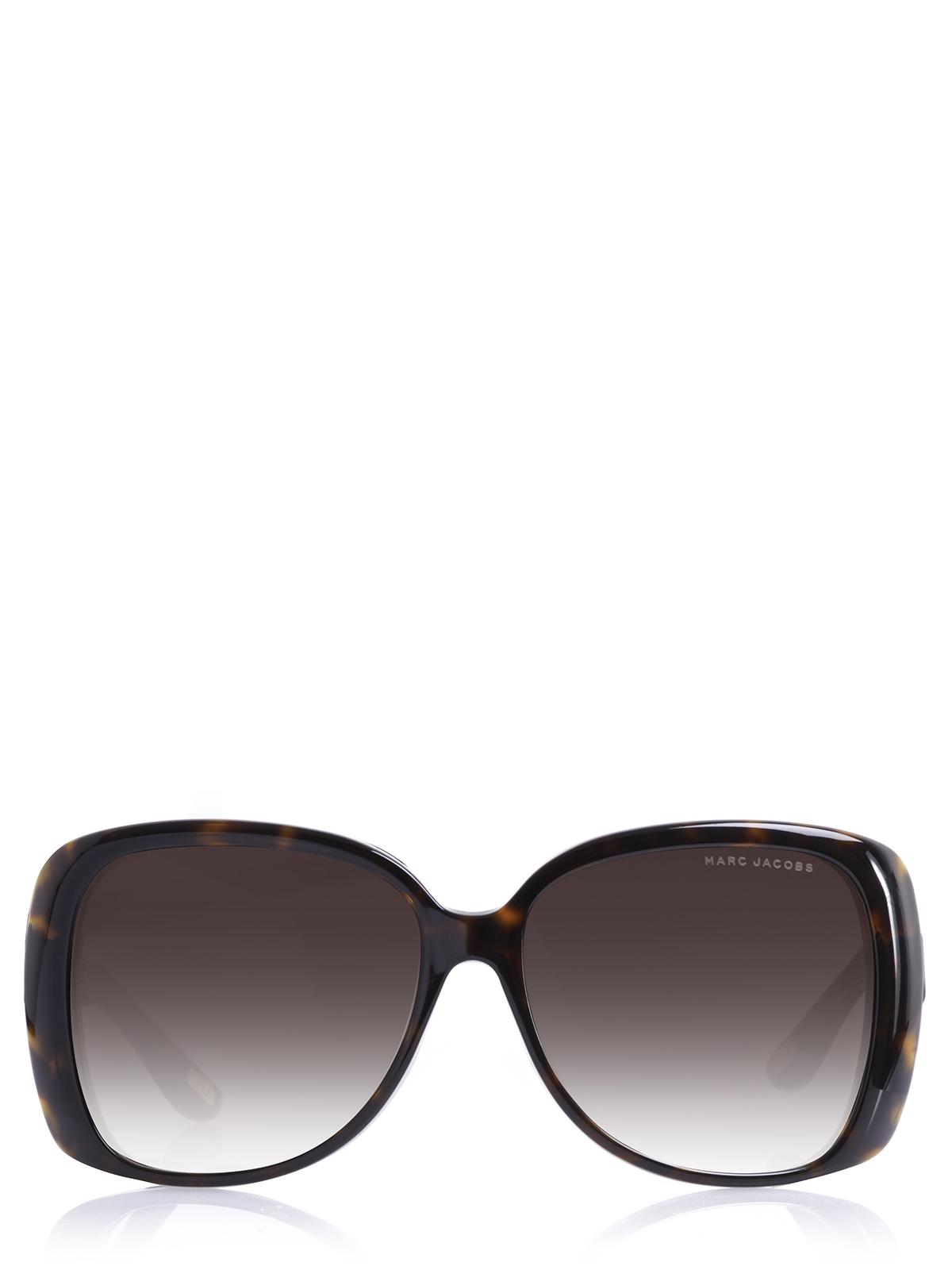 marc jacobs sonnenbrille mj 385 s dunkelbraun kunststoff ebay. Black Bedroom Furniture Sets. Home Design Ideas