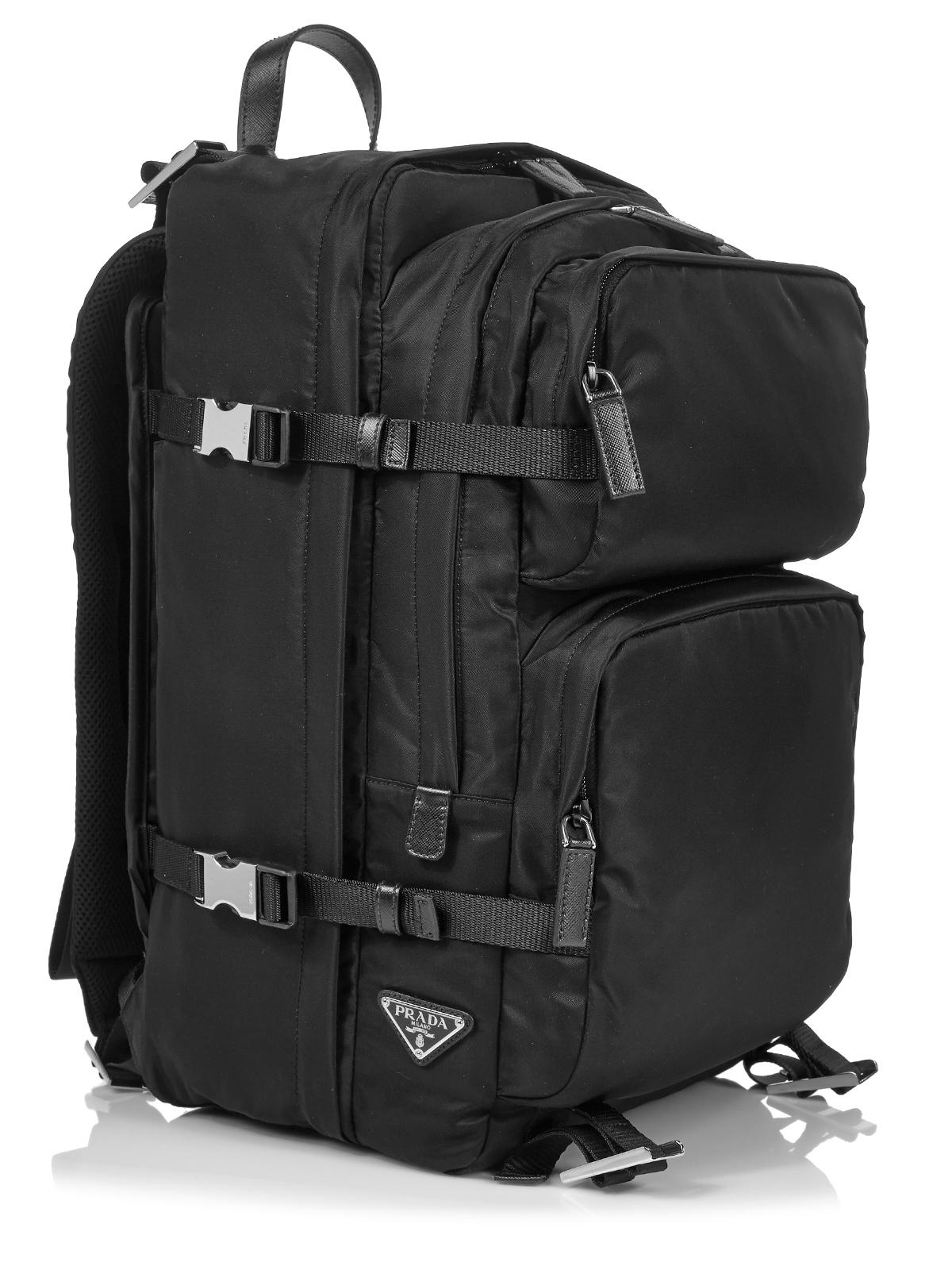 d3109e303b795 Black Prada Bag