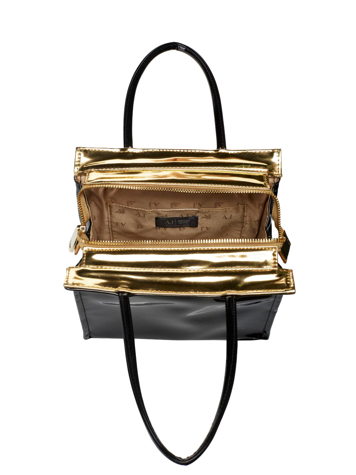 armani jeans tasche bag 922162 6a735 schwarz. Black Bedroom Furniture Sets. Home Design Ideas