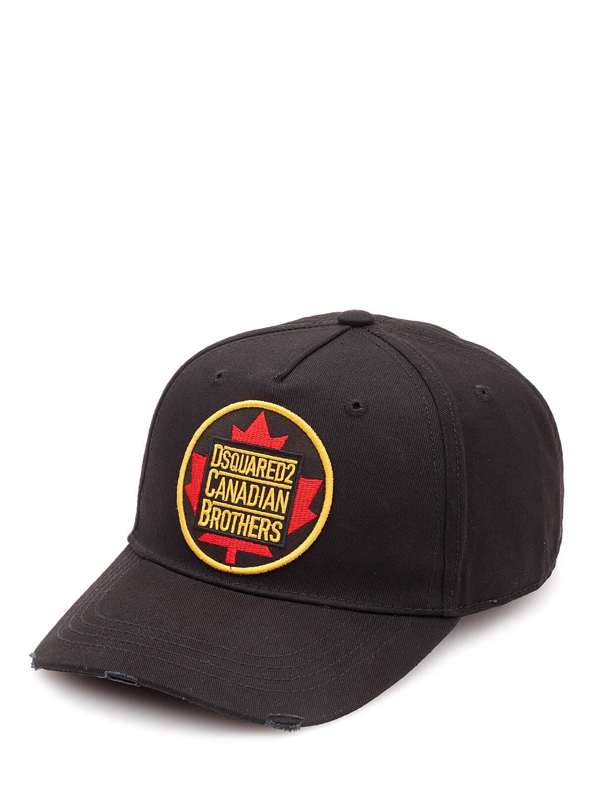 DSQUARED2 XXL Rot Mutze Cap Basecap Mütze D2 ONESIZE UNISEX